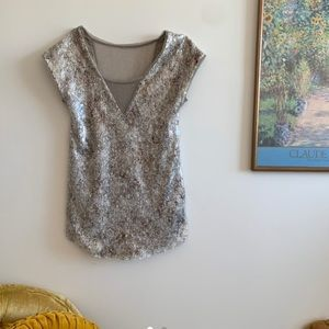 Free People Sequined Sheath
